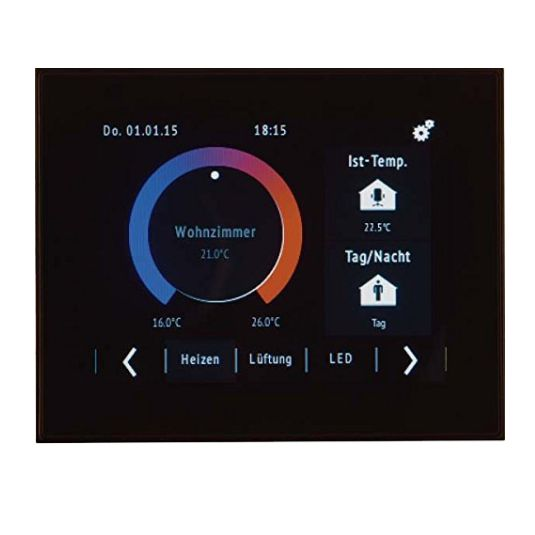 Hager Touch Panel